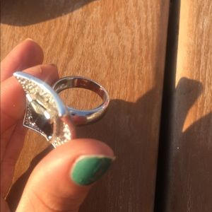 Jewelry - Gorgeous ring with stone marking 925